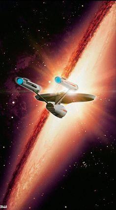 Star Trek ideas for short hair color - Hair Color Ideas Star Trek Original Series, Star Trek Series, Star Trek Tos, Nave Enterprise, Star Trek Enterprise, Star Trek Wallpaper, Science Fiction, Cuadros Star Wars, Star Trek Beyond