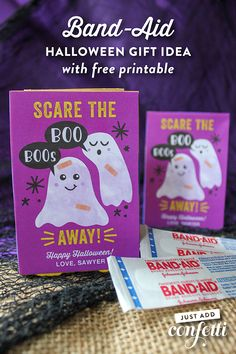 Scare the Boo Boos A