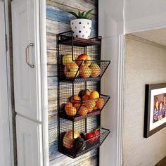Small Kitchen Organization, Kitchen Storage, Pantry Organization, Storage Organizers, Diy Kitchen, Kitchen Decor, Wooden Kitchen, Kitchen Pantry, Küchen Design