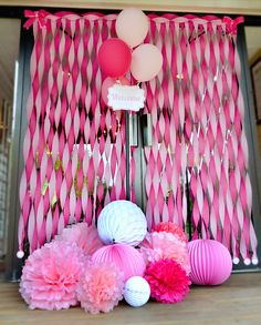 Charming, Sweet & Tickled PINK Baby Shower