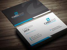 Download » http://cardzest.com/basic-clean-corporate-business-card-template/  Basic & Clean Corporate Business Card Template  #BusinessCards #businesscardtemplates #psd #freebies #modern #creative #corporate