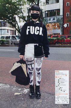 japanese street fashion // magazine unknown