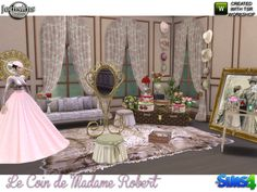 Le coin de madame Robert by jomsims at TSR • Sims 4 Updates