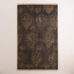 One of my favorite discoveries at WorldMarket.com: Radley Floral Hand-Knotted Wool Area Rug