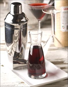 Make the classy bartender in your life homemade grenadine. DIY recipe for a flavoring syrup required by many classic cocktails. From Prep School.