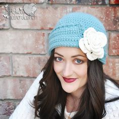 Pretty hat - free pattern