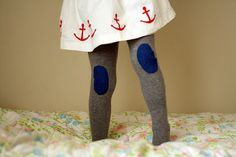 anchor and tights