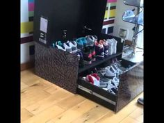 jordan shoe storage chest