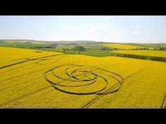NEW Crop Circle near Avebury Stone Circle, Wiltshire, 22nd April 2017...Новые круги на полях в районе Круг камней в Эйвбери, Уилтшир, 22 апреля 2017