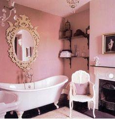 10 Fotos de Baños Color Rosa