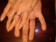 1000 Images About Wedding Ring Tattoo On Pinterest Wedding Ring Tattoos R