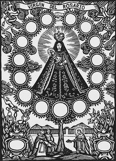 Artemio Rodriguez : Virgen Del Rosario at Davidson Galleries