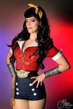 Bombshell Wonder Woman   Photographed by R.M. Photography