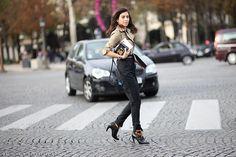 Diana Pereira | PFW Spring-Summer 2015 Street Style