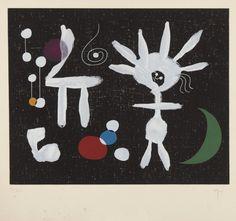 Joan Miró - 1958