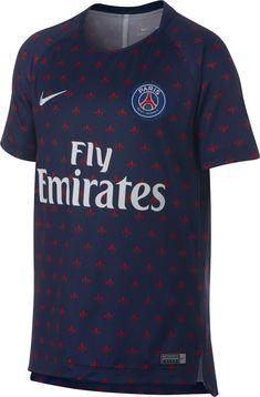 d01252303 Nike Youth Paris Saint-Germain Navy Prematch Top