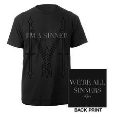 New Madonna I'm a Sinner Shirt $34.95