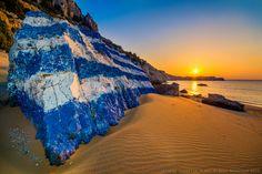 Greece by Ikoutas Vassilis - Photo 145535201 - 500px Tsambika beach, Rhodes Island, Greece