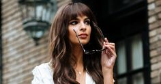 Fake Bangs Are Still Happening — & Here's Exactly How To Get 'Em #refinery29 http://www.refinery29.com/2016/10/127226/how-to-style-fake-bangs-hair-trend-tutorial