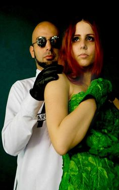 DR. Hugo Strange and Posion Ivy <3