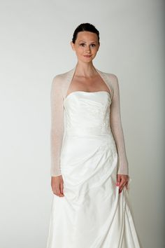 CASHMERE Wedding Bolero knitted in one piece by Weddingbolero, €120.00