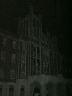 Ghost orb in the Waverly hills sanitorium