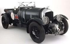 'Blower' Bentley - the car that cemented Bentley's association with success at Le Mans.