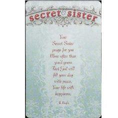 cute secret sister quotes