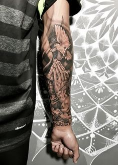 wrist covering wrist tattoo wrist tattoo template wrist realistic tattoo Ta Source by MruSleevetattoos Forarm Tattoos, Forearm Sleeve Tattoos, Best Sleeve Tattoos, Tattoo Sleeve Designs, Leg Tattoos, Mens Wrist Tattoos, Jesus Forearm Tattoo, Forearm Tattoos For Guys, Half Sleeve Tattoos For Men