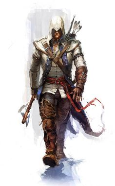 Character Concept, Character Art, Concept Art, Character Design, Character Sketches, Character Reference, Video Game Art, Video Games, Connor Kenway