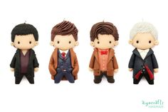 Doctor Who Polymer Clay The Tenth Doctor David by AigoCrafts