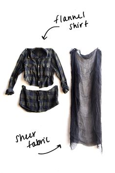 DIY Grunge Flannel (Free People Blog)