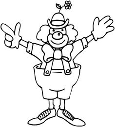 49 Best Clowns Images Painted Faces Clowns Coloring Pages For Kids