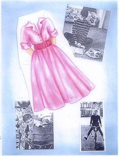 Audrey Hepburn clothes by unsigned (might be Sandra Vanderpool)