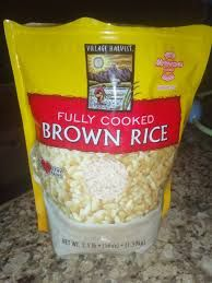 Farmer's Table Grains -Fully Cooked Brown Rice. Individual Serving Pouch. Not Sold Here  Your Price: 4.15