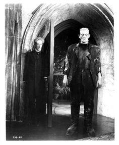 Boris Karloff as Frankenstein's Monster in The Bride of Frankenstein, 1935