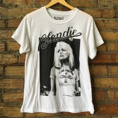 Vintage BLONDIE Rocker tee! So soft! In pre loved condition. Urban Outfitters Tops