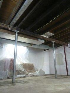 10 best foundation repair images foundation repair basement rh pinterest com