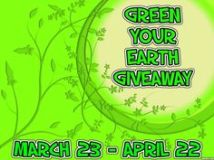 We are sponsoring prizes for the following giveaway: Green Your Earth #Giveaway Ends 4/22 #GYE0315 | Michigan Saving and More: http://michigansavingandmore.com/green-your-earth-giveaway-ends-422-gye0315/