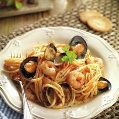 Beer Recipes, Fish Recipes, Pasta Recipes, Appetizer Recipes, Healthy Recipes, Dessert Restaurants, Steak And Seafood, Italian Recipes, Food And Drink