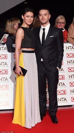 Rock 'n' roll: Emma Willis and her husband, McBusted star Matt, rocked the red carpet...
