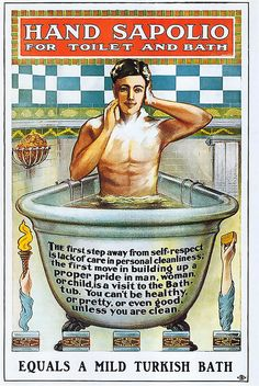 1900 ... bathing is invented!   by x-ray delta one, via Flickr