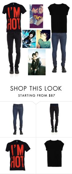 """""""I ship #babe!!~Luke"""" by xlucasx ❤ liked on Polyvore featuring Diesel Black Gold, CYCLE, Moschino, Isabel Marant, men's fashion and menswear"""