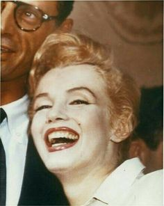 Marilyn and Arthur Miller at Sutton Place during a press conference to announce their plans to wed, June 22, 1956.