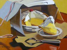 Lemon Meringue Pie 18x24 by Leigh-Anne Eagerton, painting, via Flickr