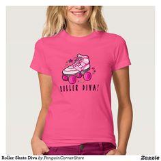 Roller Skate Diva T Shirt
