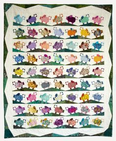 Here's the piglet tutorial because it sounds like Gayle at Mangofeet is planning to have her RSC16 challenge quilt finished by New Year's...