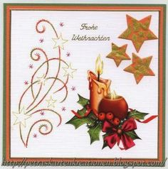 Card stitched by Petra,  pattern by Ann's Paper Art a464