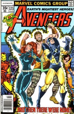 Lot Detail - The Avengers Marvel Comics (Featuring George Perez, John Byrne and John Buscema Cover/Art; Jim Shooter, Roger Stern and Steve Gerber Stories) Marvel Comics, Marvel E Dc, Marvel Comic Books, Comic Book Heroes, Marvel Heroes, Comic Books Art, Marvel Universe, Comic Superheroes, Captain Marvel