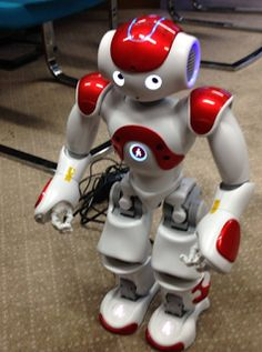 Robots and Physical Computing: NAO, chatbots, teaching and just plain showing off